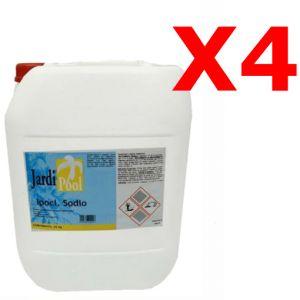 IPOCLORITO DI SODIO KIT 100 KG - Cloro Liquido 14-15% per pompe dosatrici