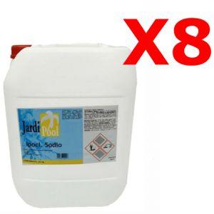 IPOCLORITO DI SODIO KIT 200 KG - Cloro Liquido 14-15% per pompe dosatrici - SPEDIZIONE GRATUITA