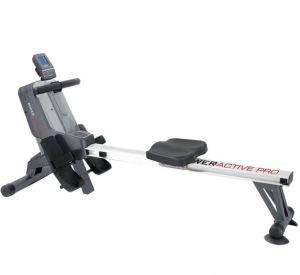 Toorx Vogatore Rower Active Pro elettromagnetico con ricevitore wireless - salvaspazio