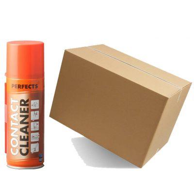 Kit Maxi Risparmio con 12 Bombolette di CONTACT CLEANER PERFECTS da 200 ml - Spray Speciale Multiuso