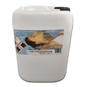 Water Oxi Low Concentration in tanica da 10 kg - Prodotto liquido a base di ossigeno attivo al 12%